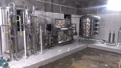 Mineral Water Treatment Plant 10000LPH