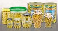 Green olives Manzanilla