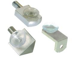 Brass Shelf Button