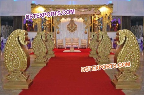 Indian Wedding Mango Mandap