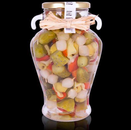 Sweet Cocktail Sticks Olives