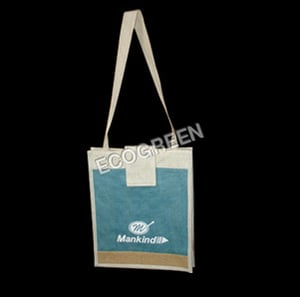 Classic Jute Conference Bag