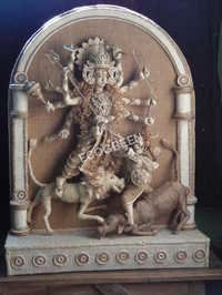 Durga Sculptures Jute