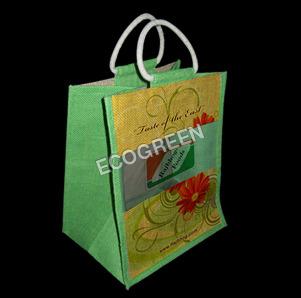 Colorful Jute Bag