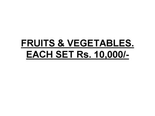 White Fruits & Vegetables.
