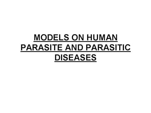 MALARIAL PARACITES