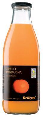 Spanish Organic Mandarin Juice