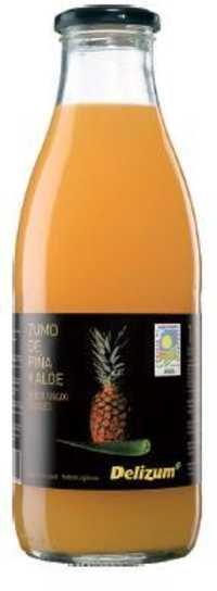 Spanish Organic Pineapple and Aloe Juice