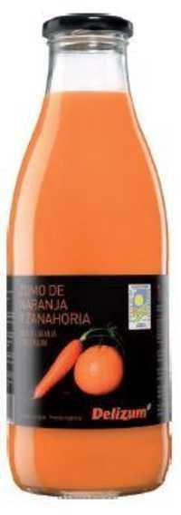Spanish Organic Carrot and Orange Juice