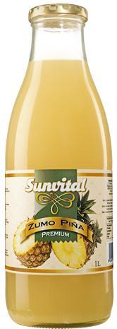 Spanish Natural Pineapple Juice