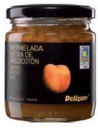 Spanish Bio Peach Jam