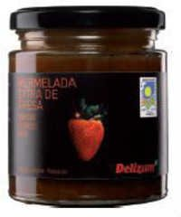 Spanish Bio Strawberry Jam
