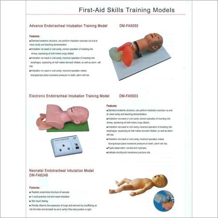 FIRST AID SKILLS TRAINING MODELS 8