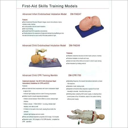 FIRST AID SKILLS TRAINING MODELS 9