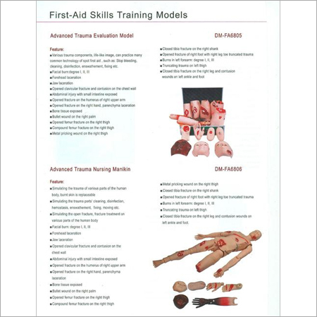 FIRST AID SKILLS TRAINING MODELS 11