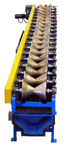 'V' Type Roller Conveyor