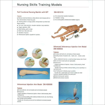 FIRST AID SKILLS TRAINING MODELS 17
