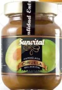 Spanish Natural Ciruela Jam