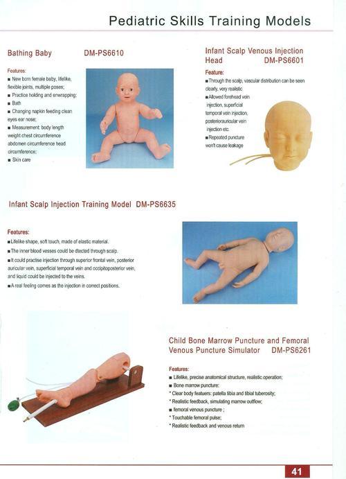 FIRST AID SKILLS TRAINING MODELS 44
