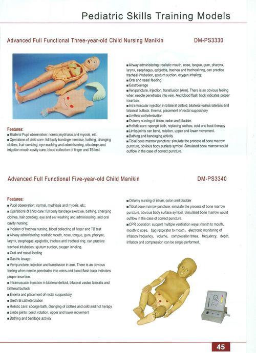 FIRST AID SKILLS TRAINING MODELS 48