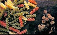 Pasta La Catalana Spirals in three colors