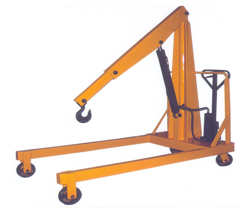 Mobile Floor Jib Crane(with Extended Hook Arm)