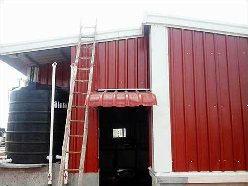 Prefabricated Terrace Roofing Shed