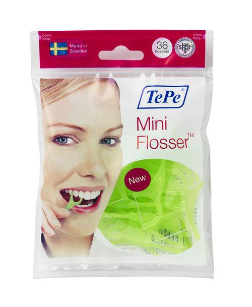 Mini Flosser-Green Bag