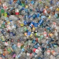 Uncrushed Pet Bottles