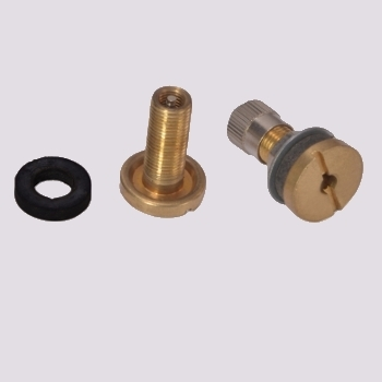 Brass Inserts with Plastic