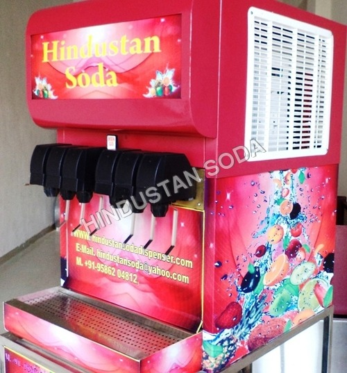 Soda Drinking Machine