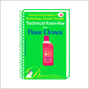 Floor Cleaner Formulation Book