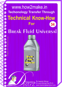 Brake Fluid Universal Formulation Ebook