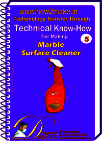 Formulations E-Book On Marble Surface Cleaner