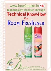 Formulations of Making Room Freshener