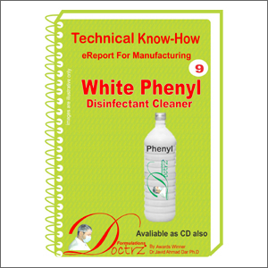 eReport for making White Disinfectant Fluid