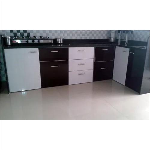 PVC Modular Kitchen Cabinet