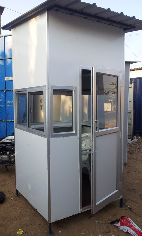 Aluminium Composite Panel Security Cabin