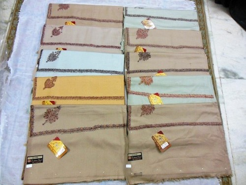 GENTS CHEAPER EMBROIDERY SHAWLS
