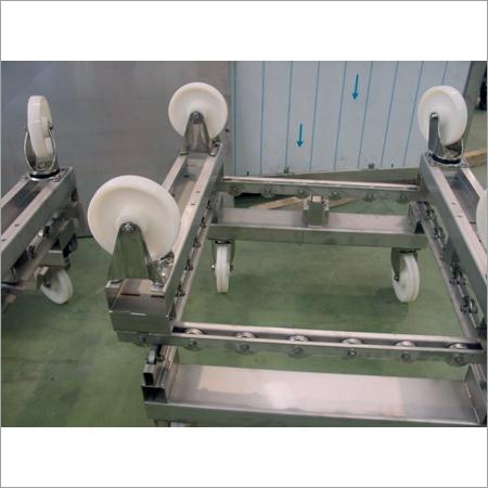 Ss Heavy Fabrication Trolley