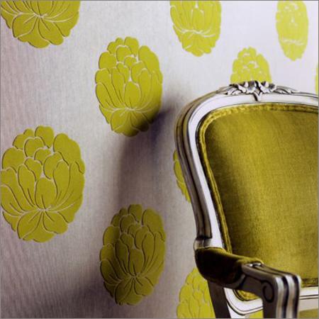 Modern Flocked Wallpaper