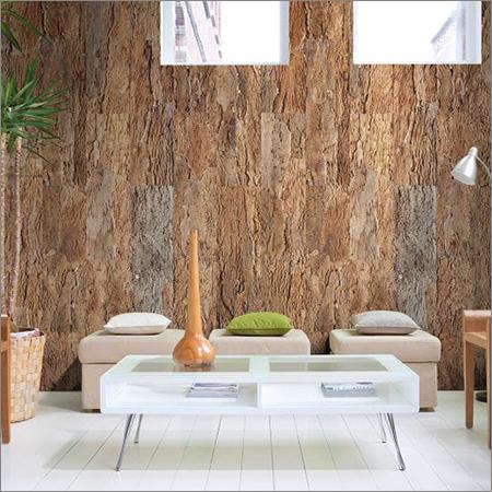 Cork Effect Wallpaper