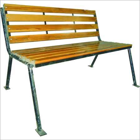 Wooden Strip Bench