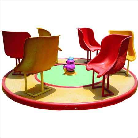 FRP Base Merry Go Round With 6 Seat