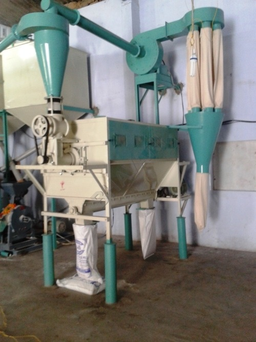 Automatic Atta Chakki and Cleaning Machine
