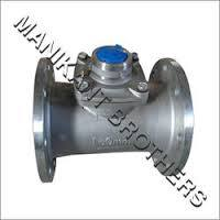 SS Flanged Water Meter