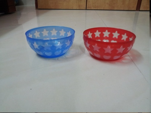 Colorful Plastic Bowl