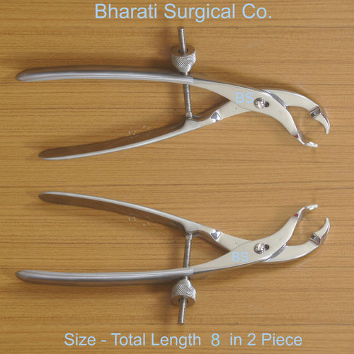 Bone Holding Forceps 8 inches 2 PIECE 3