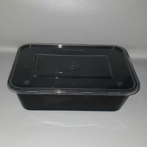 Rectangle Container 650 Ml