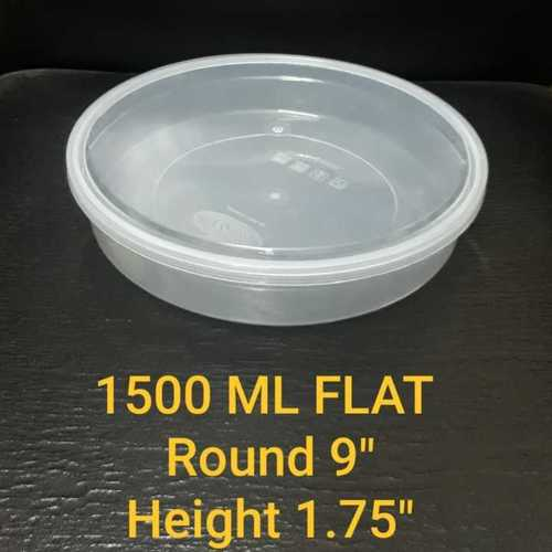 1500 ML FLAT  CONTAINER